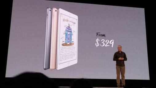 Компания Apple официально представила свой самый доступный iPad: фото и видео