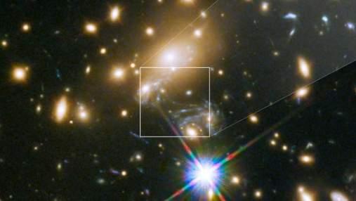 """Унікальний кадр: """"Хаббл"""" зробив знімок найвіддаленішої зірки"""