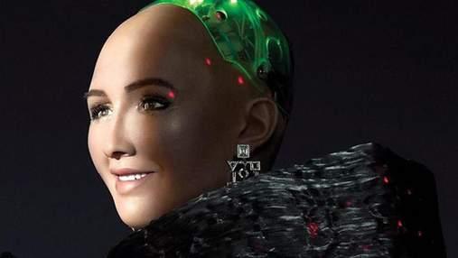 Робот Софія знялася для журналу Cosmopolitan: яскраві фото