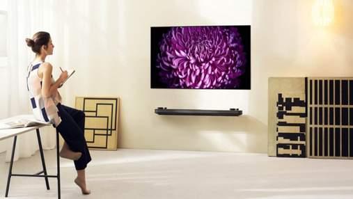 В Украине стартовали продажи новых OLED-телевизоров LG W7: фото, характеристики, цена