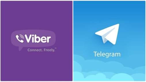 Viber чи Telegram: що обрати