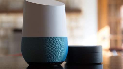 Американська компанія презентувала розумну колонку для дому Google Home