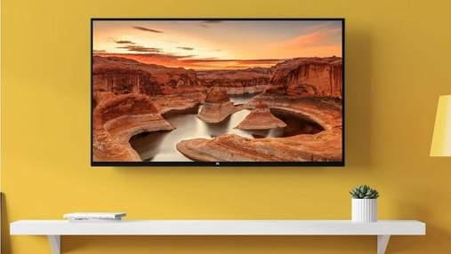 Xiaomi офіційно представила телевізор  Mi TV 4S: ціна приємно вразила