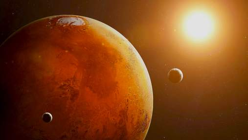 Супутники Марса виникли внаслідок зіткнення планети із іншою планетою-карликом