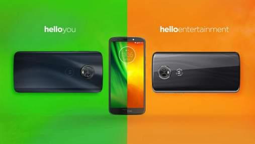 Motorola представила свої бюджетні смартфони
