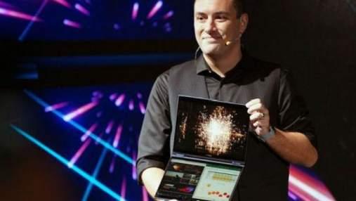 Asus  представила оригінальний ноутбук з двома сенсорними екранами: фото і ціна