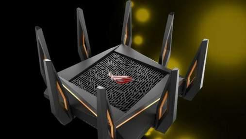 Asus представила первый в мире 10-гигабитный роутер