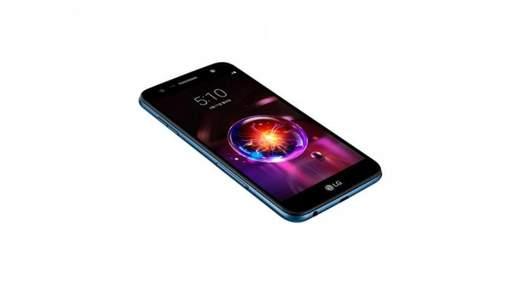 LG официально представила бюджетный смартфон X5 (2018)
