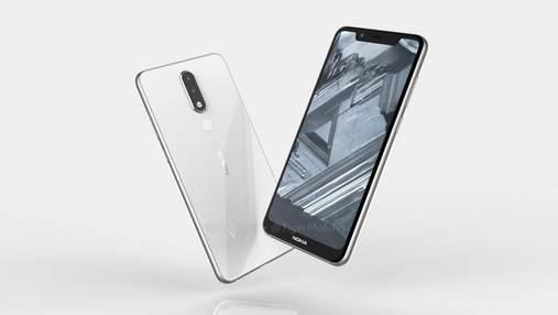 """Смартфон Nokia 5.1 Plus """"засвітився"""" в базі даних TENAA"""