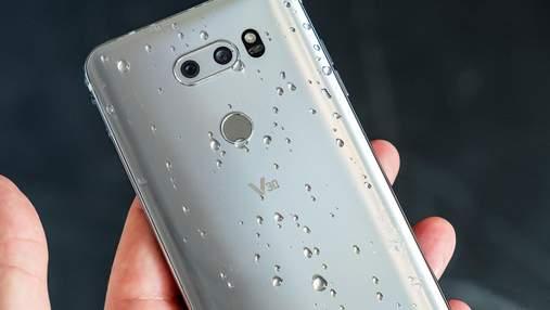 Смартфон LG V40 здивує рекордною кількістю камер