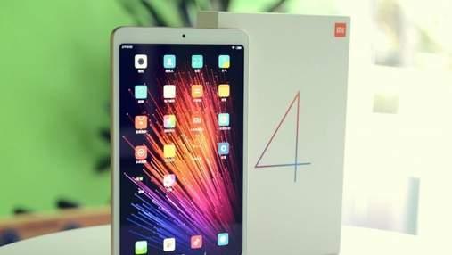 """Планшет Xiaomi Mi Pad 4 показали на """"живых"""" фото"""
