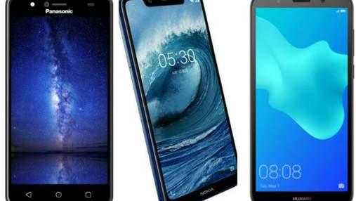 ТОП-5 новых смартфонов, стоят около ста долларов