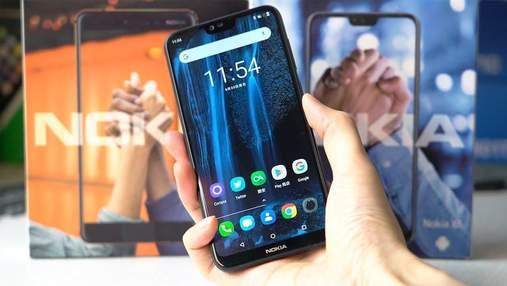 В Китае представили новый безрамочный смартфон Nokia 6.1 Plus: цена приятно удивляет