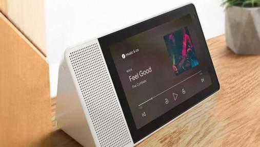 Lenovo  випустила розумний дисплей, що працює за принципом смарт-колонки