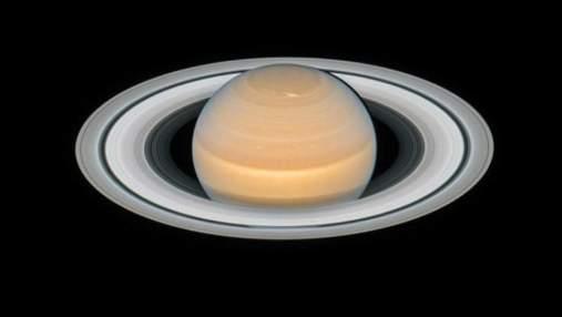 Hubble зробив унікальний знімок Сатурна