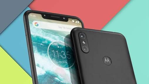 В сети появились первые фото Motorola One