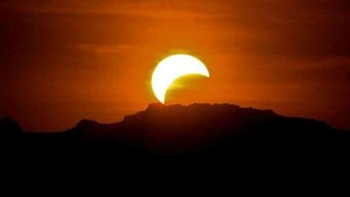 Рідкісне сонячне затемнення можна побачити вже цієї ночі