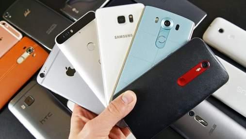 ТОП-5 найбільш продаваних смартфонів за всю історію
