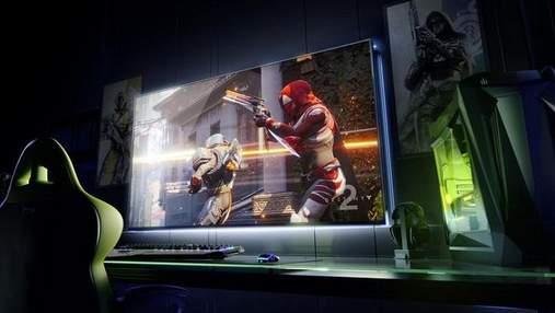 Скільки коштуватиме 65-дюймовий ігровий монітор від NVIDIA: шокуюча цифра