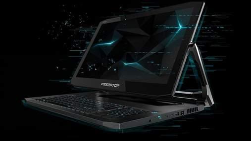 Acer анонсировала игровой ноутбук нестандартной формы