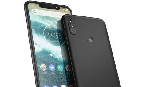 Motorola показала нові смарфтони One і One Power, які дуже нагадують iPhone X
