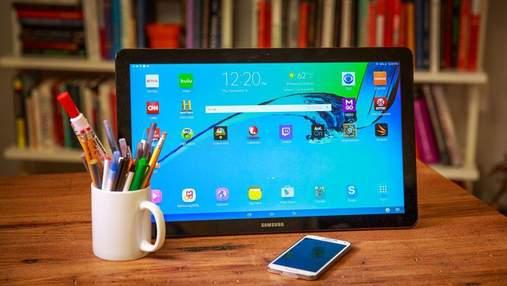 Samsung випустить ще один гігантський планшет Galaxy View