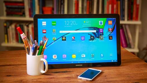 Samsung выпустит еще один гигантский планшет Galaxy View