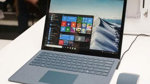 Тонкий корпус и искусственная замша – появились фото ноутбука Microsoft Surface Laptop 2