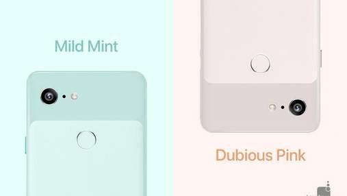 Смартфон Google Pixel 3 может появиться в очень милых цветах