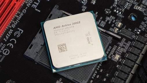 Процесор AMD Athlon 200GE надійшов у продаж: характеристики та ціна
