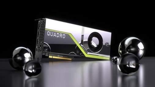 NVIDIA приймає попередні замовлення на відеокарти Quadro RTX 6000 та Quadro RTX 5000