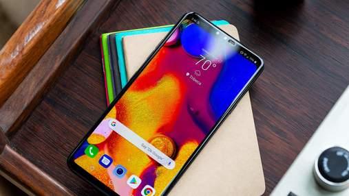 LG представила новый смартфон  V40 ThinQ с невероятными фотовозможностями