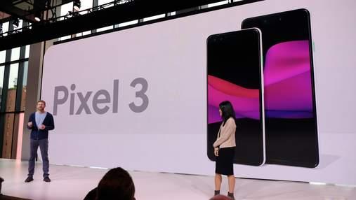 Смартфони Google Pixel 3 та Google Pixel 3 XL презентували офіційно: характеристики і ціна