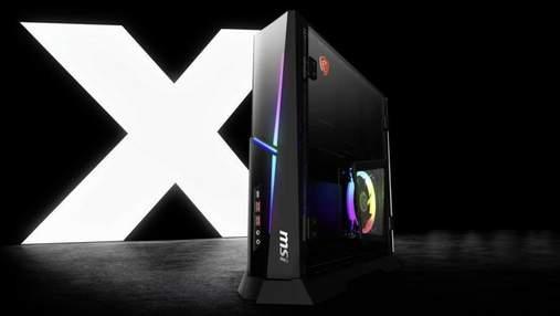 Представили десктоп  MSI Trident X із процесором Core i9 та відеокартою GeForce RTX 2080 Ti