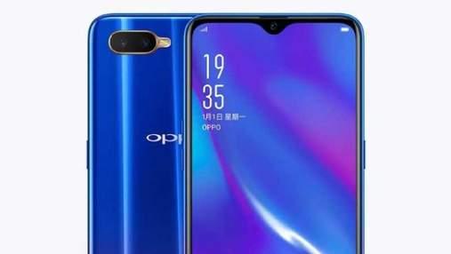 OPPO представила недорогий смартфон K1 з флагманськими фішками