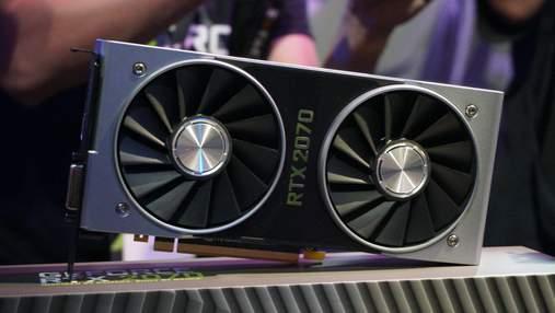 Видеокарта NVIDIA GeForce RTX 2070 оказалась быстрее GeForce GTX 1080