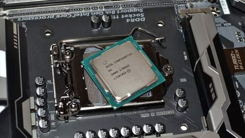 Intel випустить 8-ядерний процесор для ноутбуків сімейства Coffee Lake-H