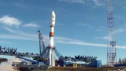 """В Росії знову запустили ракету """"Союз"""" з військовим вантажем на борту"""