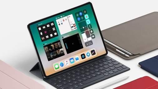 Дизайн нового iPad Pro 2018 розсекретили напередодні презентації