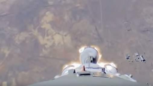 """Аварія ракети """"Союз"""": з'явилось відео з бортової камери"""