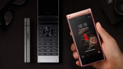 """Samsung представил новый смартфон – """"жабку"""" W2019: чем поразит флагман"""