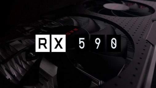 """Характеристики и цену видеокарты AMD Radeon RX 590 """"слили"""" в сеть"""