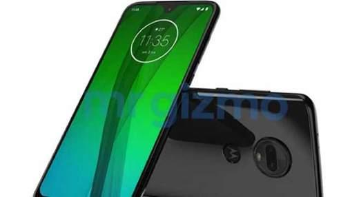 Неанонсований смартфон Moto G7 засвітився на фото