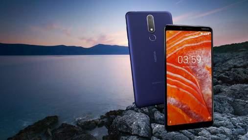 Недорогий смартфон Nokia 3.1 Plus вийшов на міжнародний ринок