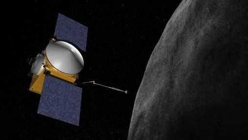 Апарат OSIRIS-REx знайшов на астероїді Бенну сліди води