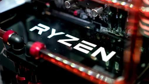 Неанонсированные мобильные процессоры AMD Ryzen протестировали на производительность