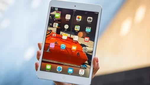 Apple готовит к выпуску планшет iPad mini 5