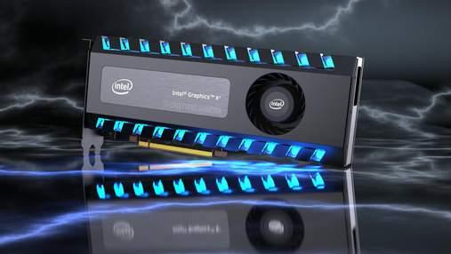 Как будет выглядеть дискретная видеокарта от Intel: фото
