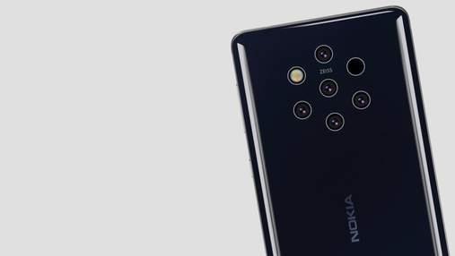 """Новые изображения смартфона Nokia 9 PureView """"засветились"""" в сети"""