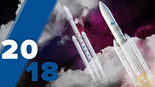 Найяскравіші запуски ракет, – рейтинг Техно 24